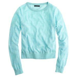 J. Crew Featherweight Merino Crew Sweater, Small